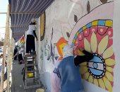 """صور.. """"بنها حلوة بينا"""" حملة لتجميل عاصمة القليوبية"""