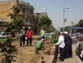 البيئة تبدأ تنفيذ مبادرة زراعة 3500 شجرة فى شبرا الخيمة