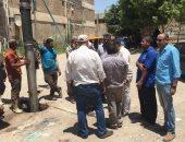 شركة مياه القناة توجه حملة لتطهير شبكة الصرف بالقنطرة غرب