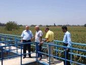 قافلة علمية بجامعة المنوفية للتغلب على مشكلات تنقية مياه الشرب بالقرى