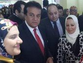 جامعة المنصورة تشارك بالمعرض الدولى للتعليم العالى