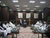 مفتى الجمهورية يستقبل وفدًا من رابطة خريجى الأزهر فى ليبيا لبحث تعزيز التعاون