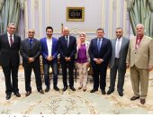 رئيس مجلس النواب يلتقى شعبة المحررين البرلمانين