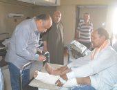 سكرتير عام محافظة المنيا يتابع الحالة الصحية للمصابين فى حادث الشرفا