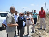 تطوير طريق المعاهدة لتقديم خدمة متميزة لزائرى بورسعيد