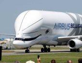 صور.. إيرباص تختبر للمرة الأولى طائرة شحن مصممة على شكل حوت عملاق