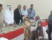 رئيس مدينة بئر العبد يكرم أوئل الثانوية بشمال سيناء