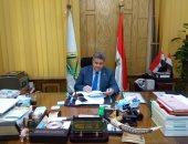 رئيس جامعة بنها يستقبل عارف سليمان عميد كلية الهندسة الجديد