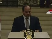 السيسي: أمن دول الجوار جزء من أمن مصر
