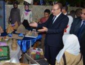 محافظ بنى سويف يشهد احتفالية مديرية التعليم للأنشطة الطلابية