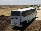 بدء نقل الإرهابيين الرافضين للتسوية بريف القنيطرة لشمال سوريا