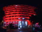 إنارة قلعة صلاح الدين ومبنى وزارة التضامن بالضوء الأحمر الليلة.. اعرف السبب