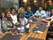 """توفيق عكاشة يجتمع مع فريق عمله بـ""""الفراعين"""" لعودة القناة"""