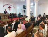 صور.. افتتاح كنيسة إنجيلية بدسوق بحضور القس أندريه زكى ومدير أمن كفر الشيخ