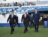صور.. بوتين: كأس العالم فى روسيا كان الأكثر أهمية على المستوى الدولى