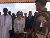 صور.. وزيرة الجيوش الفرنسية تقوم بجولة فى منطقة الساحل الأفريقية