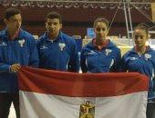 """فضية جديدة لـ""""ايروبك الجمباز """" فى الألعاب الإفريقية للشباب بالجزائر"""