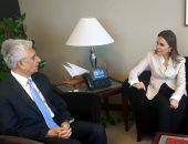 """وزيرة التعاون تتفاوض مع البنك الدولى على دعم """"تنمية سيناء"""" بمليار دولار"""