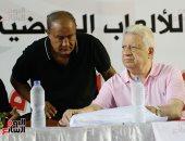"""مرتضى منصور لفرج عامر: """"اهدى شوية"""".. وهانى العتال ملوش عضوية عندى"""