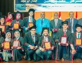 رئيس جامعة المنيا يشهد حفل تخرج الدفعة الـ8 لكلية الصيدلة