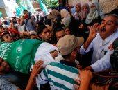 الفلسطينيون يشيعون جثامين شهداء القصف الإسرائيلى على قطاع غزة - صور