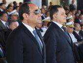 نجل الشهيد مالك مهران: الرئيس السيسي أوصانى باستكمال مسيرة والدى - صور