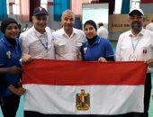 نعمة سعيد تتوج بـ 3 ذهبيات فى منافسات الأثقال بدورة الألعاب الأفريقية