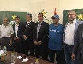 صور.. مدرب الزمالك السابق يوقع رسميا لاهلى طرابلس الليبي