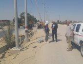 رئيس مدينة بئر العبد بشمال سيناء يتابع جودة رغيف الخبز والأسواق.. صور