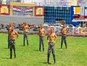 فيديو وصور.. طلاب كلية الشرطة يقدمون عروضا عسكرية ورياضية أمام الرئيس السيسي