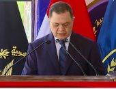 وزير الداخلية: نحرص على الاهتمام بالعنصر البشرى للارتقاء بمعدلات الأداء
