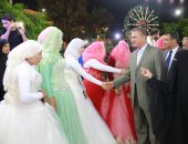 فيديو وصور.. توزيع أجهزة على 140 عروسا بكفر الشيخ