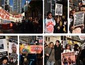 مظاهرات فى أستراليا للمطالبة بحسن معاملة اللاجئين