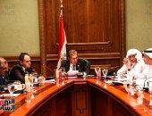مصر تترأس اجتماع لجنة صياغة البيان الختامى للاتحاد البرلمانى العربى - صور