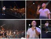 """الآلاف فى حفل محمود العسيلى بـ""""جولف مارينا"""""""