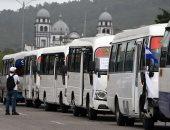 صور.. إضراب سائقى الشاحنات فى هندوراس.. وإغلاق الطرق الرئيسية