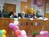 تكريم المتميزين فى الملتقى التوظيفى الثالت لتمريض المنوفية (صور)