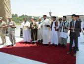 """وفد أئمة ليبيا فى دورة """"خريجى الأزهر"""" يزور النصب التذكارى للجندى المجهول"""