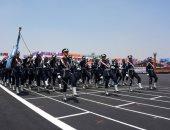صور.. بدء العرض العسكرى لخريجي الكليات العسكرية بحضور الرئيس السيسى