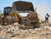 ننشر تقرير لجنة اراضى الدولة حول إزالة التعديات بالبناء او الاراضى الزراعية