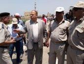 تنفيذ 33 حالة إزالة تعديات على أملاك الدولة بقرى كفر الشيخ