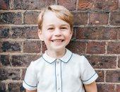 الأمير جورج نجل الأمير وليام البريطانى يحتفل بعيد ميلاده الخامس