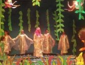 """فرقة أسوان تقدم عرض """"حنان فى بحر المرجان"""" بالمهرجان القومى للمسرح"""