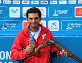 أحمد قمر يحصد ذهبية البطولة العربية للرماية