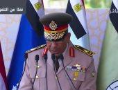 فيديو.. رئيس هيئة تدريب القوات المسلحة يعلن نتيجة تخرج طلبة الكليات العسكرية
