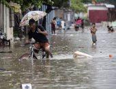 مصرع 10 أشخاص وتشريد عشرات الآلاف فى بورما بسبب الفيضانات