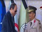 الرئيس السيسى يصدق على التحاق العقيد ياسر وهبة بكلية الدفاع الوطنى