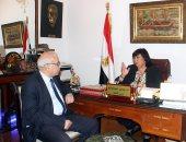 وزيرة الثقافة: نعمل على استعادة الريادة الثقافية لمصر في العالم العربي