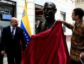 فى ذكرى 23 يوليو.. شاهد صور تمثال جمال عبد الناصر فى عاصمة فنزويلا