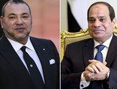 برقية تهنئة من ملك المغرب للرئيس السيسى بمناسبة ذكرى ثورة 23 يوليو